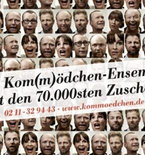 Plakat 70.000 Deutschland gucken