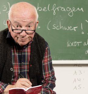 Horst Schroth, Null Fehler, ©Oliver Fantitsch